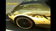 Позлатено Ferrari 599 Gtb