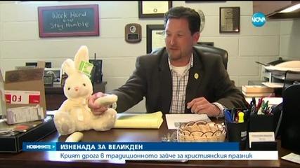Откриха половин килограм амфетамини във Великденско зайче