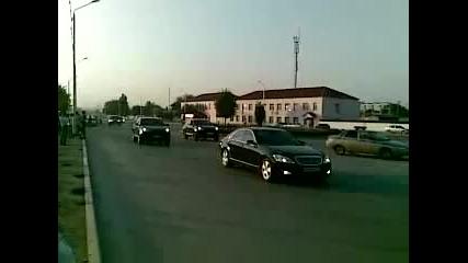 Най - големия сватбен кордон в Чечния!