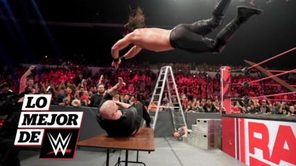 Seth Rollins gana importante victoria antes de WWE TLC: Lo Mejor de WWE