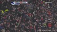 Победа за Юнайтед и гол на Бербатов !!! Manchester United 2:0 Stoke City