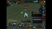 Wow Mage vs Rogue Hunter 1v2 pvp arena