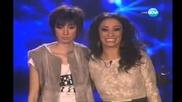 X factor Стела Петрова & Мария Илиева- big kiss