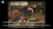 10те епични военни битки до последния дъх