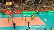 Волейбол: България - Бразилия 0:3