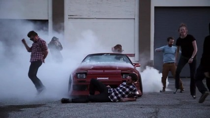 Изродски burnout Harlem Shake ! Hd www.streetcustomsbg.at.ua