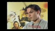 Интервю на Джони Деп за документалния филм Lost in La Mancha - 1