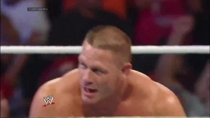 John Cena vs. Seth Rollins- Smackdown, Dec. 27, 2013