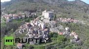 Дрон снима изоставен град в Италия