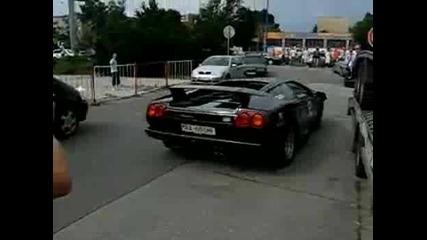 Идиот удря Ламборджини Диабло