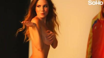 Венецуелска красавица Alexandra Lemoine за списание Soho-colombia 1