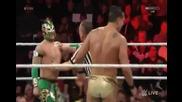 Дийн Амброуз и Калисто срещу Шеймъс и Алберто Дел Рио - Wwe Raw - 18.01.16