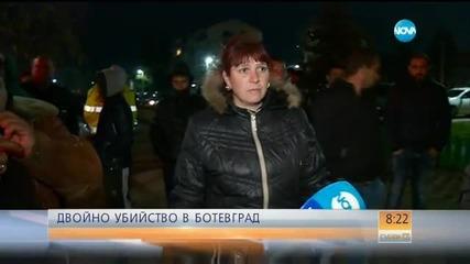 Жандармерията патрулира близо до дома на убитите мъже в Ботевград