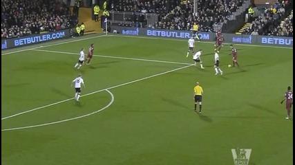 Възхитителен гол на Хатем Бен Арфа срещу Фулъм!