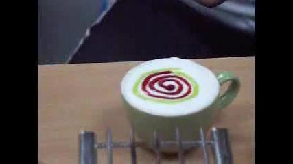 Произведения На Изкуството Върху Кафе(3)