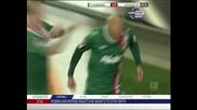 """Шалке"" обърна ""Аугсбург"" с два гола на Хунтелаар"