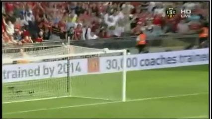 Chelsea 1 - 3 Manchester United - Berbatov Goal