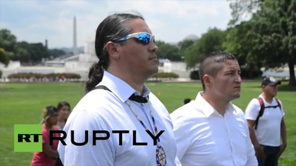 USA: Native Americans rally for tribal sovereignty on Capitol Hill