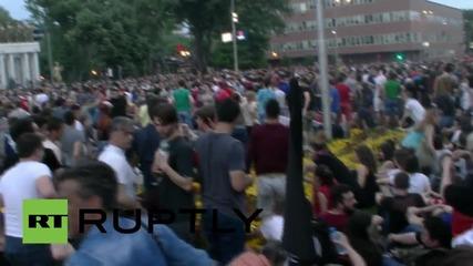 Нови протести на опозицията в Скопие