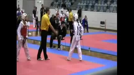 Taekwondo Victoria 2009 State Selections Wtf Tkd Sparring 02