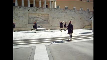 Смяна на караула пред гръцкото президентство