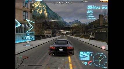 Nfs world *ford Gt Vs Lamborghini Gallardo Lp560-4 Vs Audi R8*