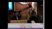 justin bieber Q100 berts show jan 22th part 1
