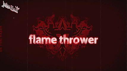 Judas Priest - Flame Thrower / Lyric Video /