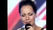 Жена със страхотен глас изуми журито Х Фактор 2011