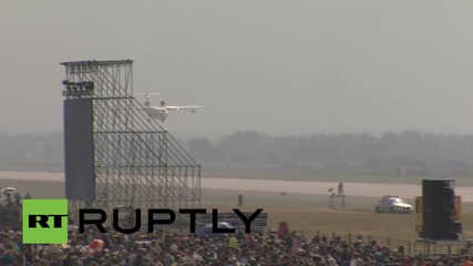 Russia: Beriev Be-200 shows firefighting capability at MAKS-2015