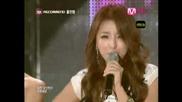 Hong Jin Young - Love Battery [mnet M!countdown 090702]