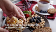 Breakfast Recipes: Vegan Banana Oat Waffles