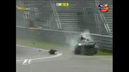 F1 Катастрофа В Канада Кубица