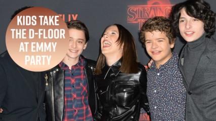 """Децата от Stranger Things са най-големите купонджии на наградите """"Еми"""""""