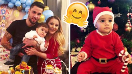 Синът на Деси Слава - на 1 годинка! Разделени ли са певицата и Благой?