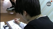 [bangtan Bomb] Jung kook is drawing