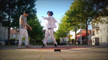 Талантливи танцьори на Дъбстеп - Iglich и Johanormal