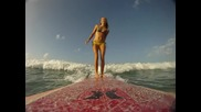 Surfer girl Daize Shayne Goodwin and the Goprohd