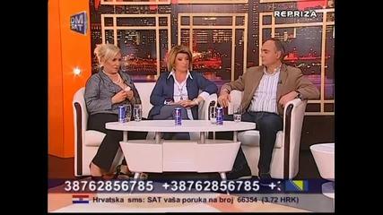 Vesna Zmijanac, Biljana Jevtic, Aca Ilic - Utorkom u 8 - (DM SAT 18.03.2014)