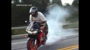 Xtreememotorsports - Chrisy - Cbr900 - Rollingburnout