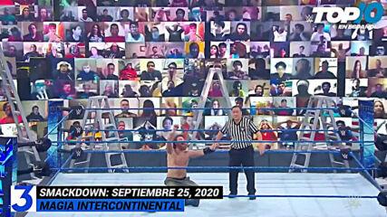 Top 10 Mejores Momentos de SmackDown En Español: WWE Top 10, Sep 25, 2020