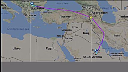 Иран пусна Борисов на връщане от Саудитска Арабия
