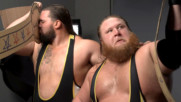 Heavy Machinery pose with the Yolo County Tag Team Titles: WWE.com Exclusive, June 11, 2019