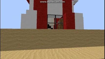 Minecraft Голям Плаж и Фар