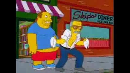 Homer Simpson Is The Hulk