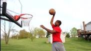 Страхотни умения с баскетболна топка