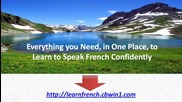 How to Speak French Language Online