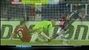 Ето как Бербатов пропусна в първата контрола на Юнайтед 11/12