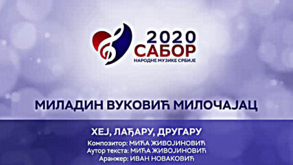 Miladin Vukovic Milocajac - Hej, ladjaru, drugaru Sabor narodne muzike Srbije 2020.mp4
