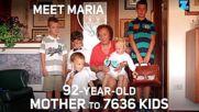 Майката на 7636 деца, която никога не е раждала